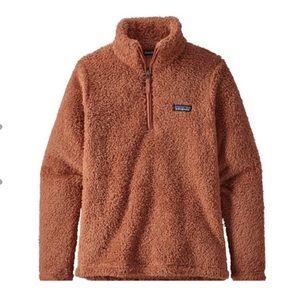 Patagonia Los Gatos 1/4 zip sherpa fleece jacket
